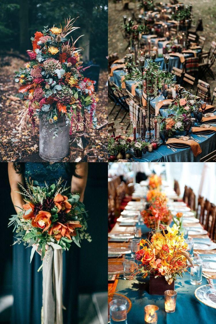 20 Dark Teal and Rust Orange Wedding Color Ideas for Fall in 2020 | Wedding  colors, Orange wedding colors, White roses wedding