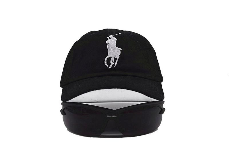 9c0d48cbf2c Mens Polo Ralph Lauren Big Pony Embroidered No. 3 Left Stitched Strap Back  Adjustable Cap - Black. Mens   Womens ...