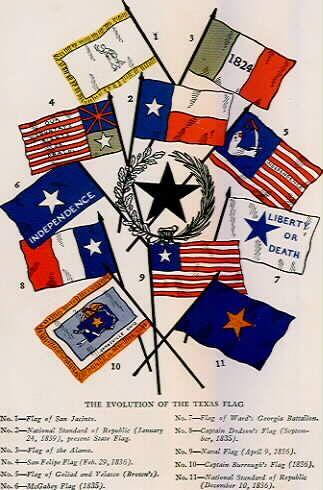 Flags Of Texas Texas History Texas Revolution Republic Of Texas