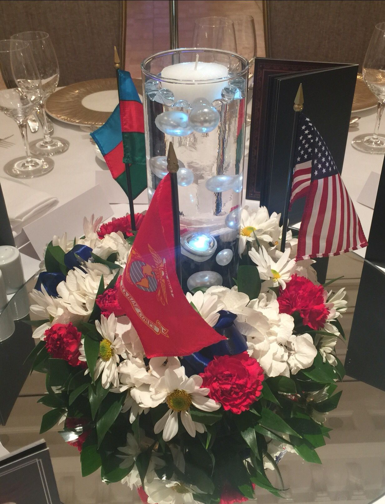 Marine Corps Birthday Ball - Patriotic Centerpiece by Its My Delight ...