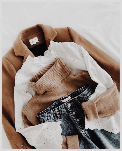 Fall look | Autumn inspiration | Turtleneck | Blazer | Jeans | Inspiration | Mor... 1