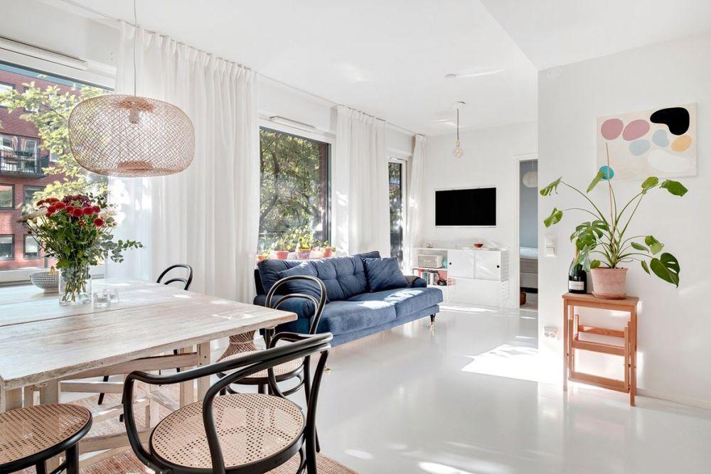 Nordic Inspired Living Room Decor Home Decorating Trends Homedit Living Room Scandinavian Living Room Designs Interior Design Living Room #trending #living #room #decor