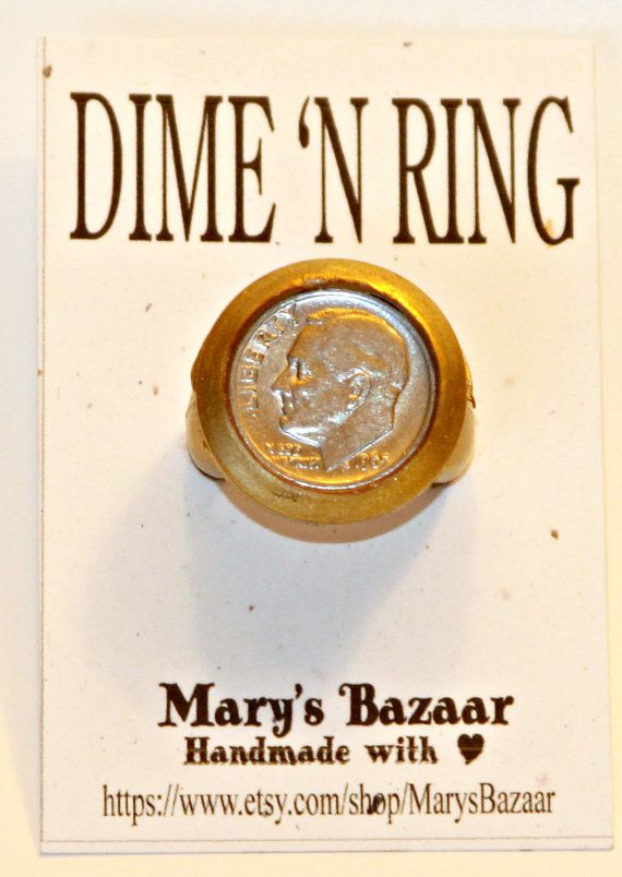 DIME IN RING Gag Gift | Gag gifts, Diamond and Ring