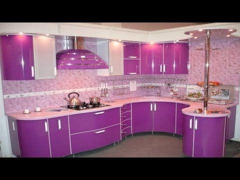 Latest Purple Pink Kitchen Design Ideas Modern Kitchen Color