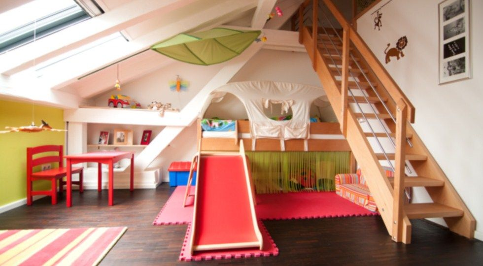 Kinderzimmer gestalten junge mit dachschräge  Kinderzimmer Ideen | kinderzimmer einrichtung ideen | schlafzimmer ...