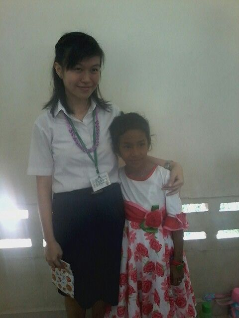 With my miss! 'Edeline'