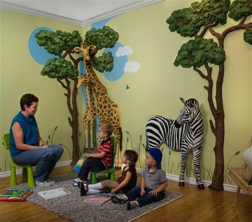 Beetling Zebra African Safari 3d Wall Art Decor Jungle Bedroom Theme Jungle Bedroom Safari Theme Bedroom