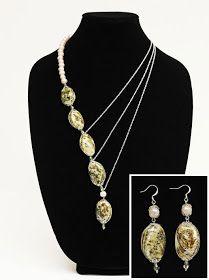Ben Franklin Crafts & Frame Shop: Elegant Shell Necklace and Earrings Tutorial