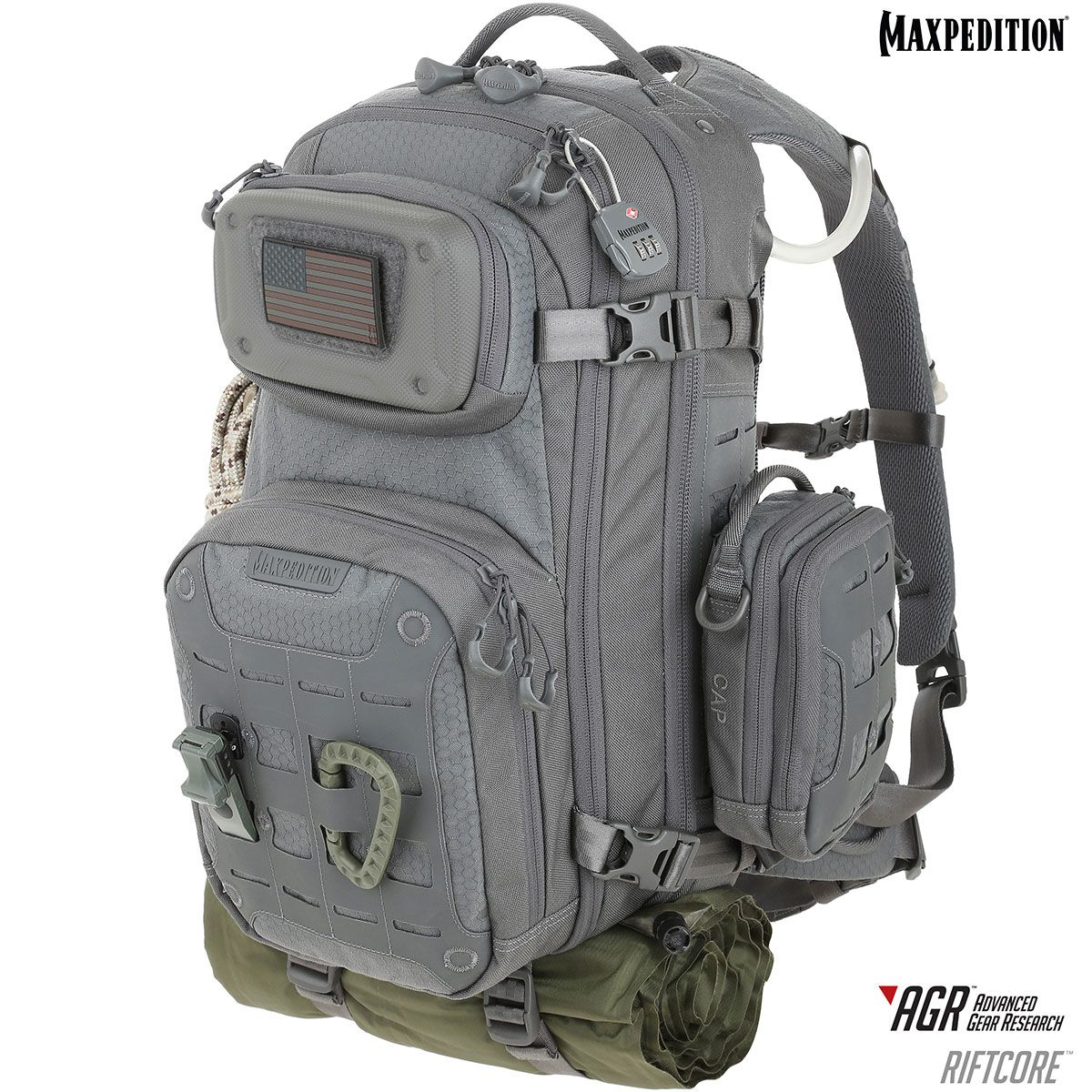 Maxpedition Unisex Riftcore Backpack Rfcgry