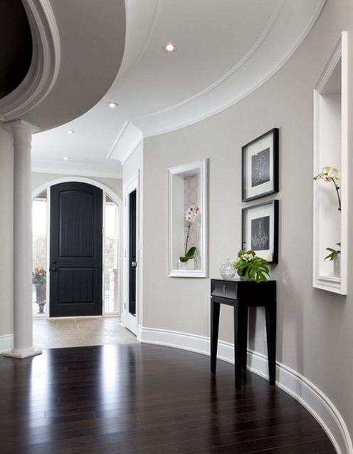 Alternative Design for hallways Home Houses Pinterest