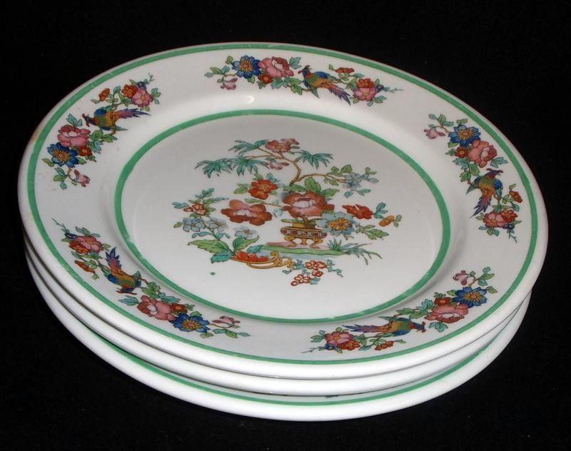 Set Of 3 Iroquois China Indian Tree Style Restaurant China Plates No Reserve Iroquoischina China Dinnerware Restaurant China China Plates