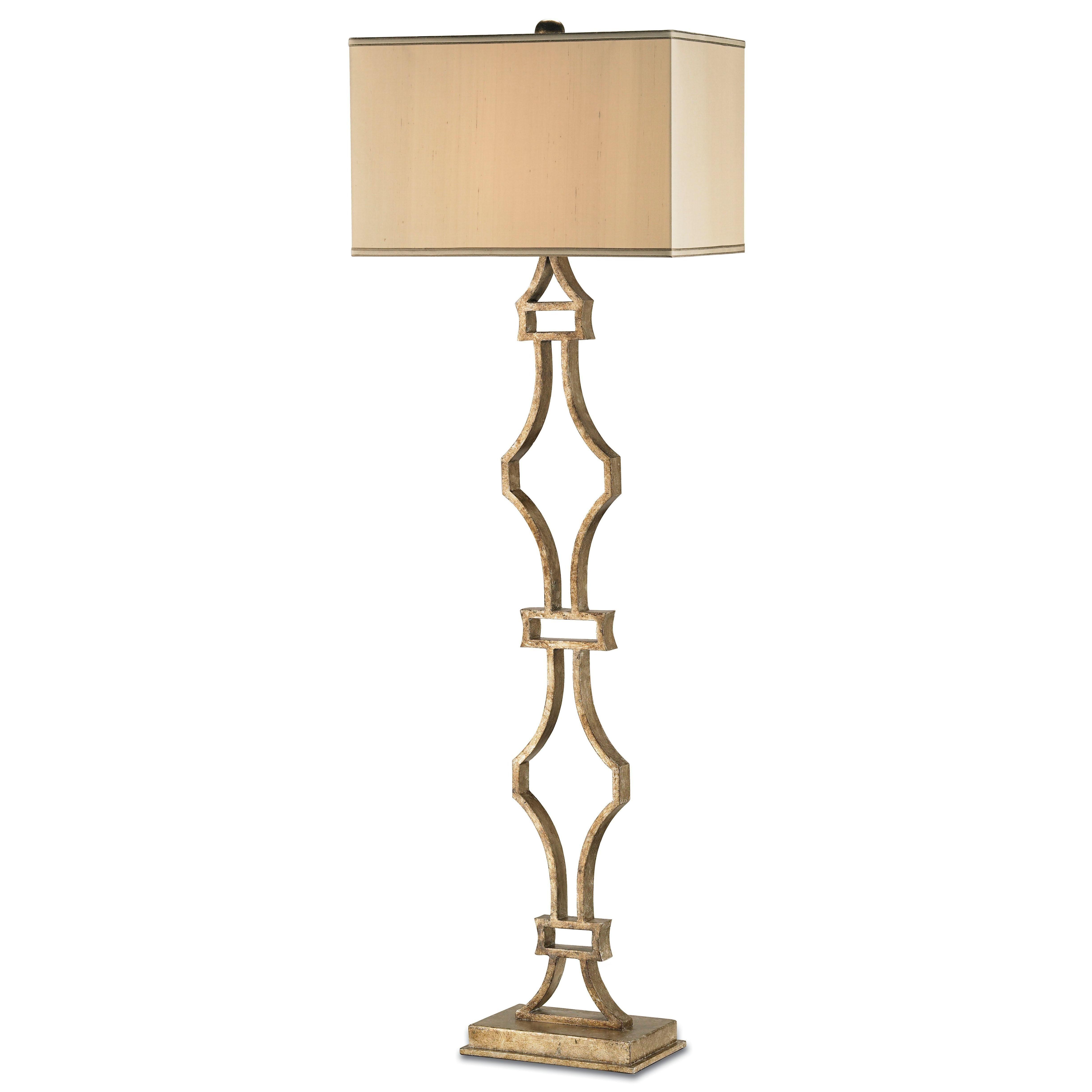 Currey Amp Co Eternity Floor Lamp Currey Co 8028 Candelabra Inc Elegant Floor Lamps Floor Lamp Transitional Floor Lamps
