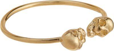 Gold Baby Skull Ring