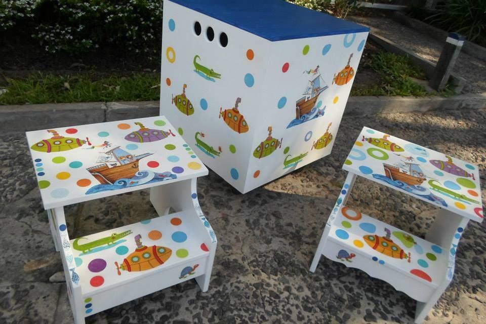 Practico y Funcional! CUBO con rueditas  para guardar juguetes y escaleritas https://chucheriashechasconamor.tiendanube.com