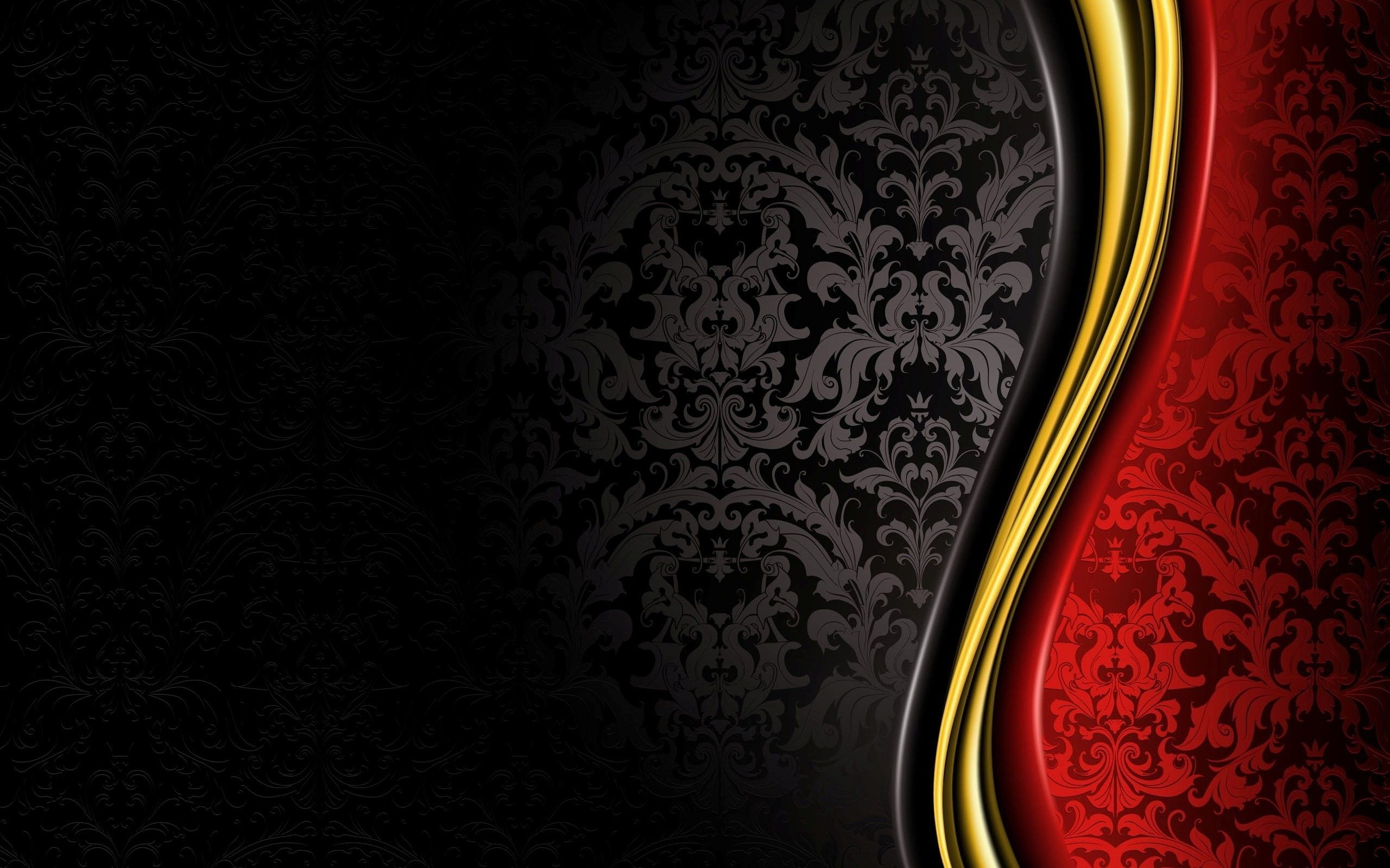 Red And Black Vintage Wallpaper 1450