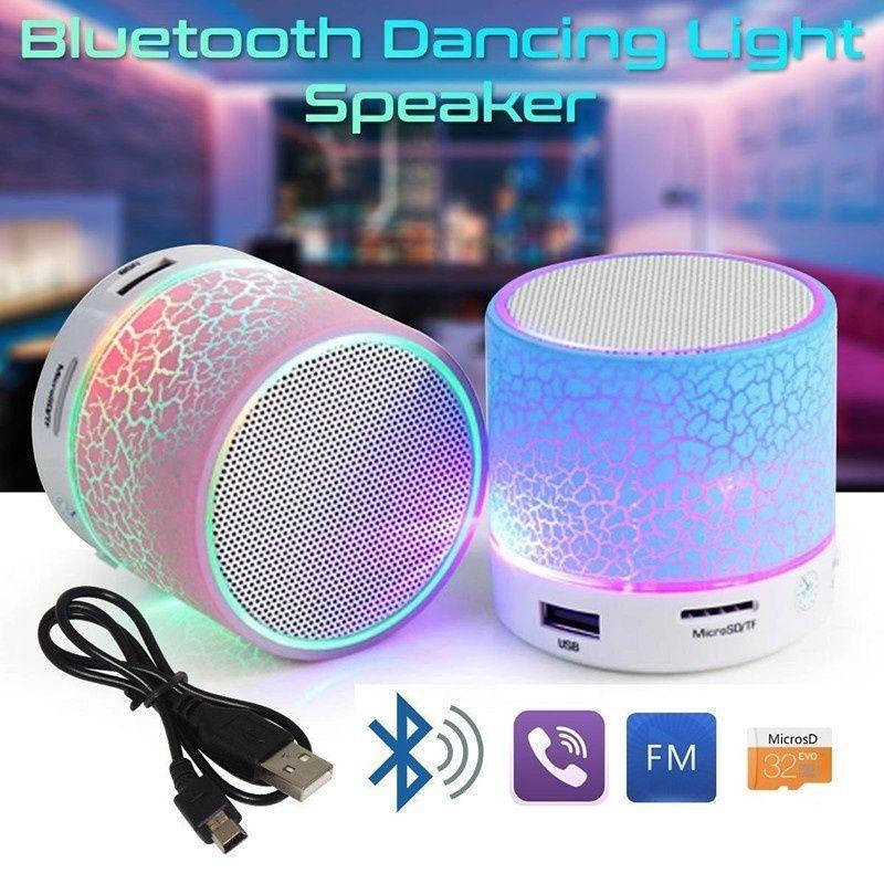 Led Bewegliche Mini Drahtlose Bluetooth Lautsprecher Mit Tf Usb Fm Mic Blue Portable Bluetooth Speakers Minis Wireless Speakers Bluetooth Mini Wireless Speaker