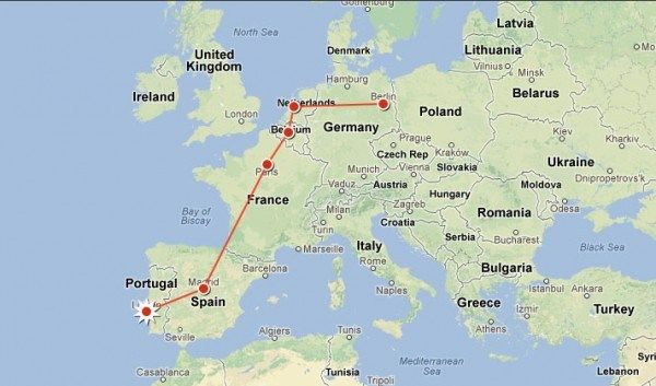Itinerary For Traveling Europe By Train The Blonde Abroad Europe Train Travel Europe Travel Travel Through Europe