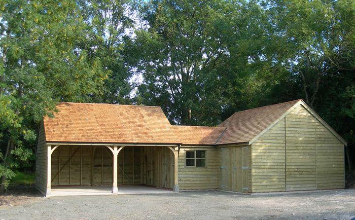 Workshop carport b u i l d pinterest barn cabin for Carport workshop plans