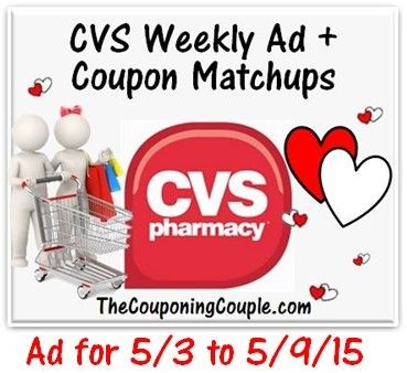 Here is the NEW CVS Ad for 5-3 to 5-9-15 with Coupon Matchups. Several FREEBIES + Ton's of other GREAT Deals! Click the link below to get all of the details ► http://www.thecouponingcouple.com/cvs-ad-for-5-3-to-5-9-15-coupon-matchups/  #Coupons #Couponing #CouponCommunity  Visit us at http://www.thecouponingcouple.com for more great posts!