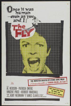 The Fly (1958) -- Director:  Kurt Neumann --   Original Music by  Paul Sawtell -- Cast: Vincent Price, David Hedison, Patricia Owens, Herbert Marshall, Kathleen Freeman, Betty Lou Gerson, Charles Herbert