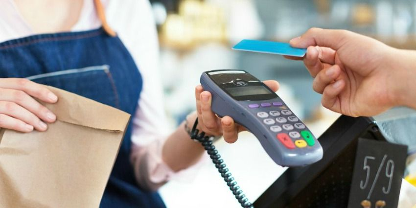 Evolution of transactions with credit card payment