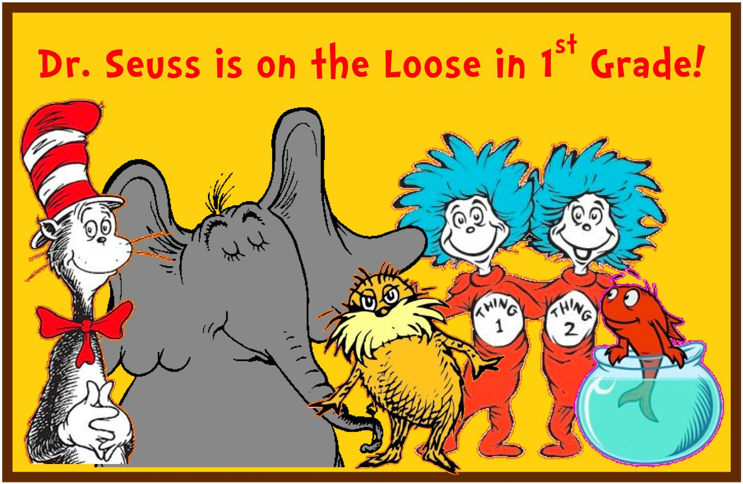 Dr Seuss Is On The Loose