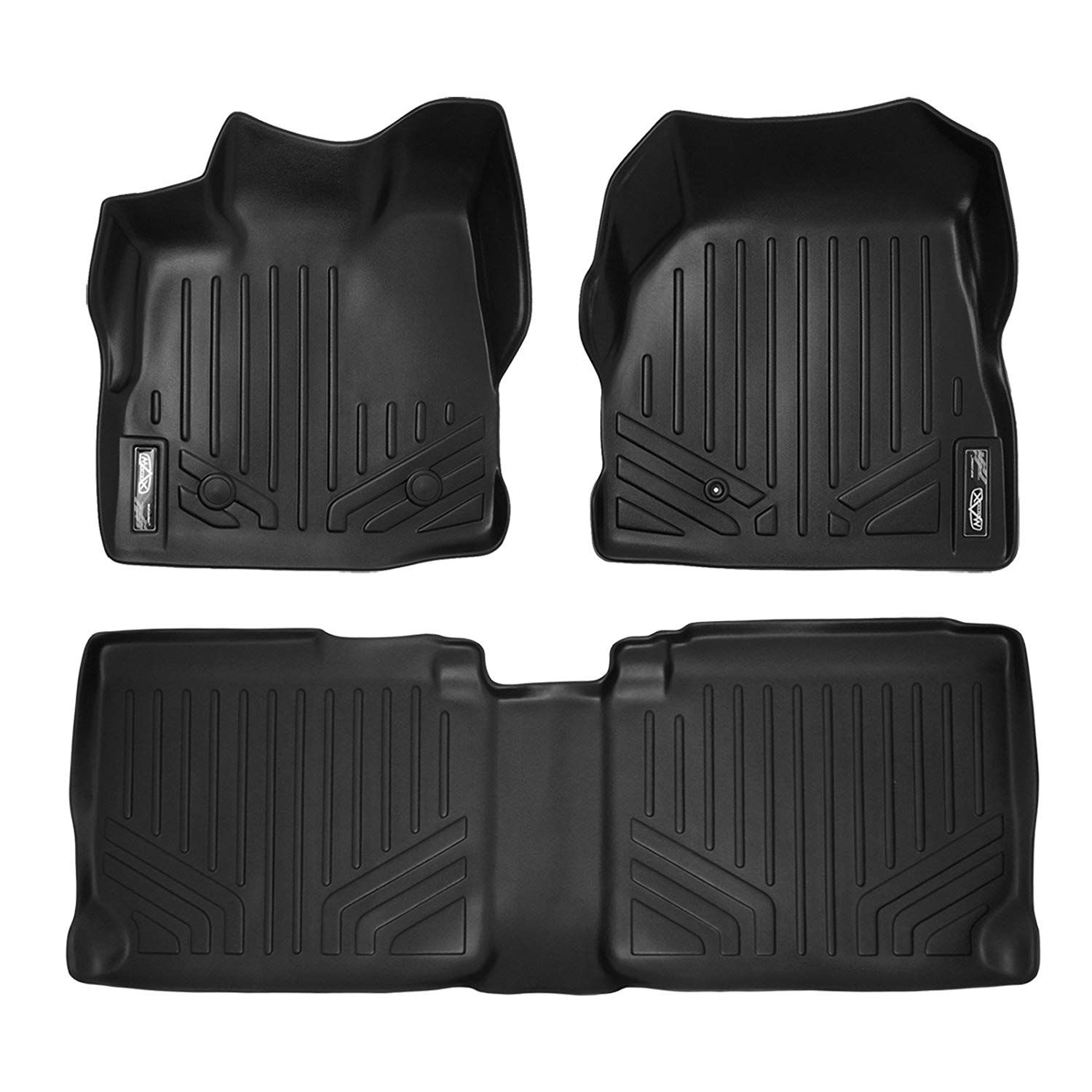 Maxfloormat Floor Mats For Equinox Terrain 2012 2017 Complete Set Black Dual Floor Post More Info Could Husky Liners Honda Civic Sedan Chevy Equinox