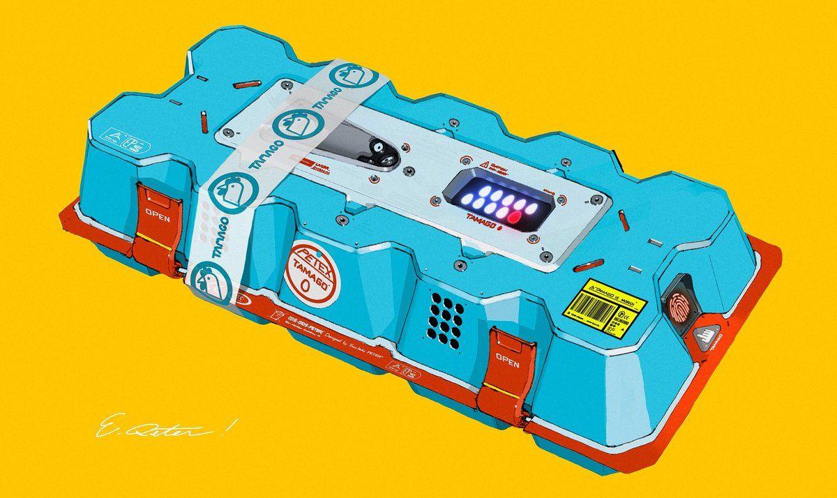 4 twitter robot concept art retro gadgets sci fi concept art