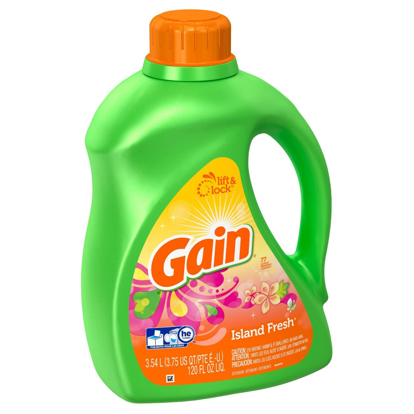 Gain Island Fresh Aroma Boost Liquid Laundry Detergent 120 Fl