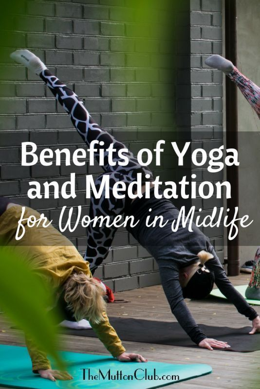 How yoga and meditation can ease the messy middle of life and bring calm and fluidity to the day to...