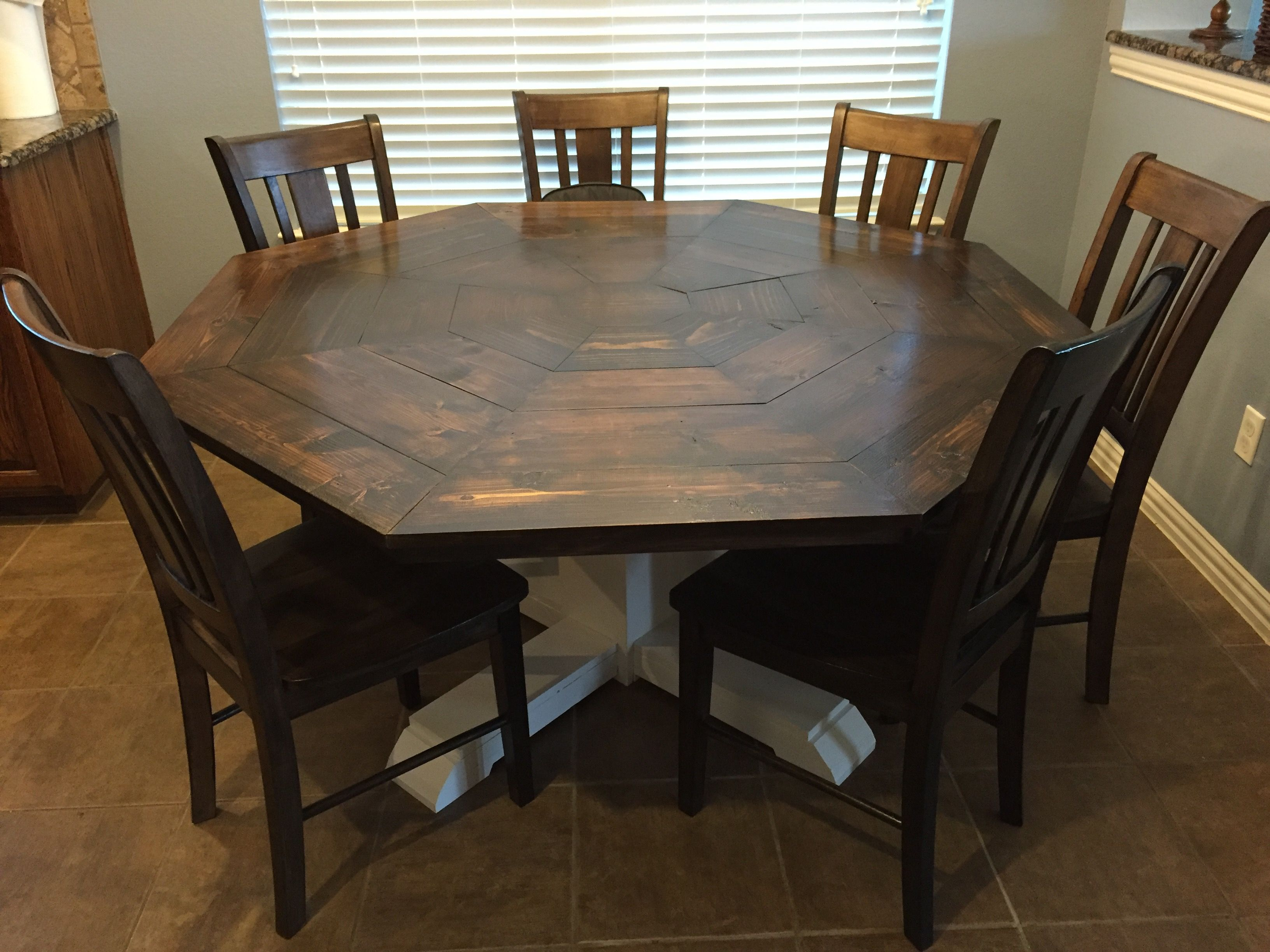 Ana White Octagon Dining Room Table Diy Projects Octagon