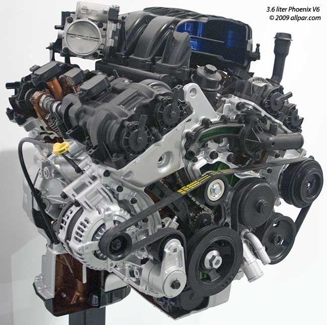 Dodge Pentastar Motor V