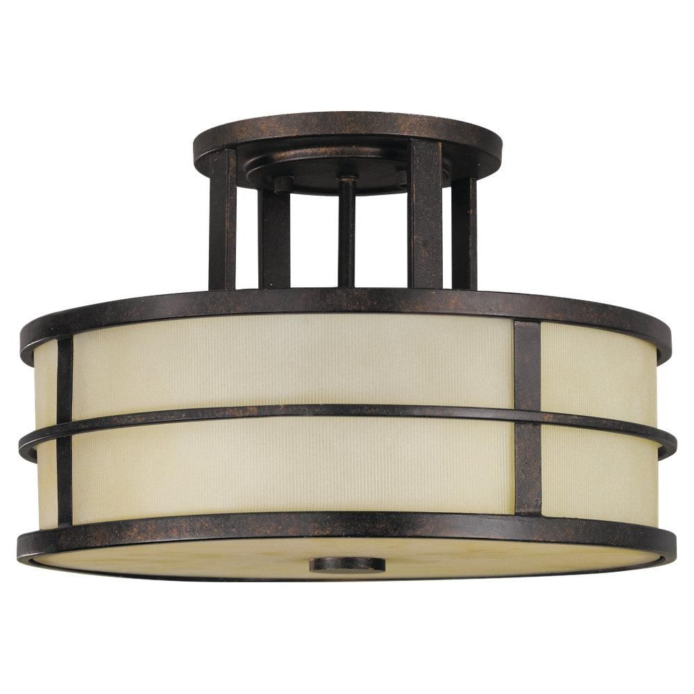 Signature lighting and fans in calgary alberta canada murray off fusion semi flush ceiling light by feiss the feiss fusion three light semi flush fixture in grecian bronze provides abundant light to your home arubaitofo Image collections