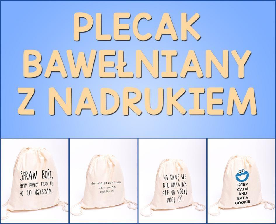 Plecak Materialowy Worek Bawelniany Spraw Boze 5732389920 Oficjalne Archiwum Allegro Bucket Hat Hats