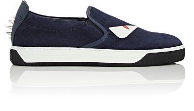 fef0509d FENDI Spiked Buggies Slip-On Sneakers. #fendi #shoes #sneakers ...