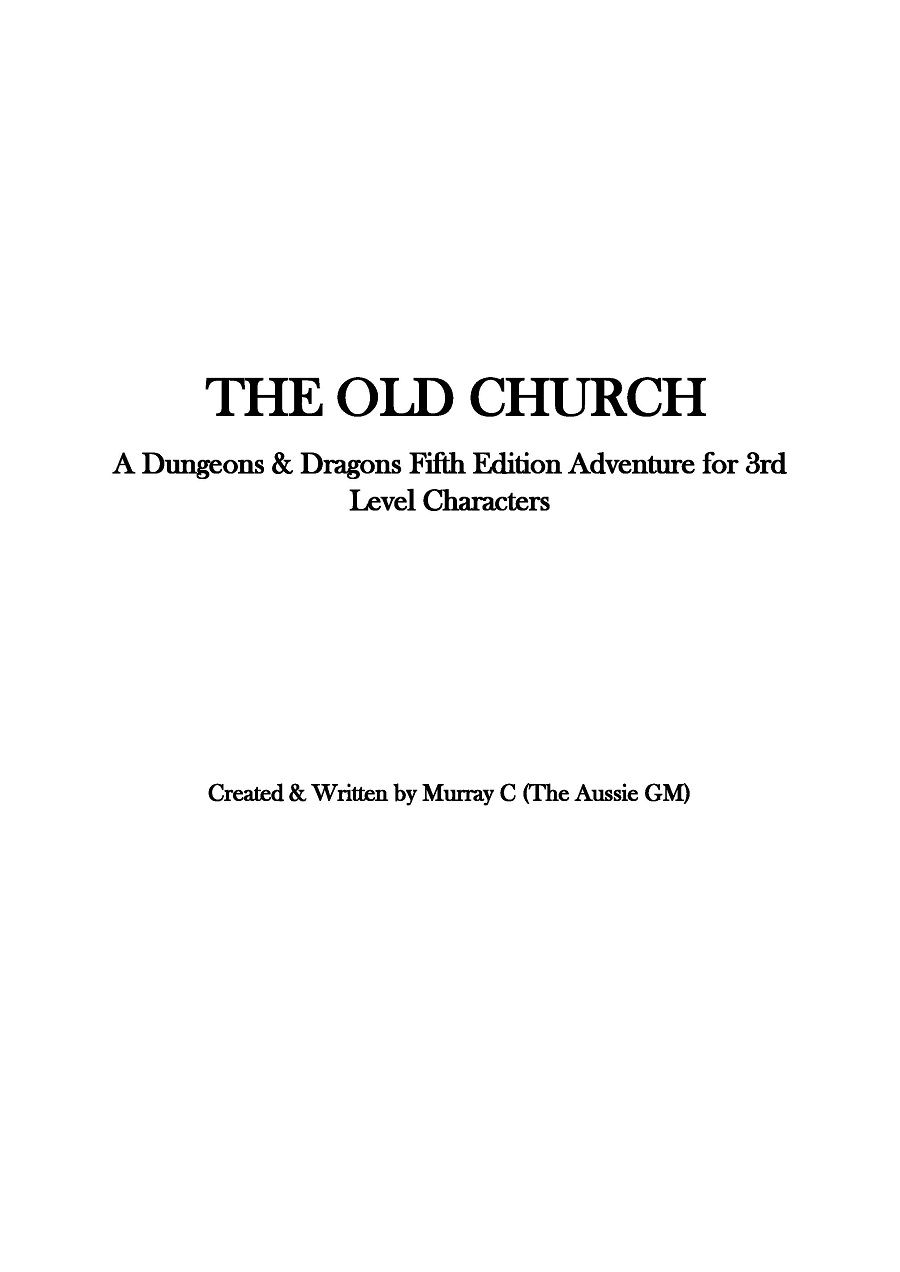 I PUBLISHED A FREE D&D 5e ADVENTURE Hey Guys, Got Something For You That I'm Pretty Proud Of