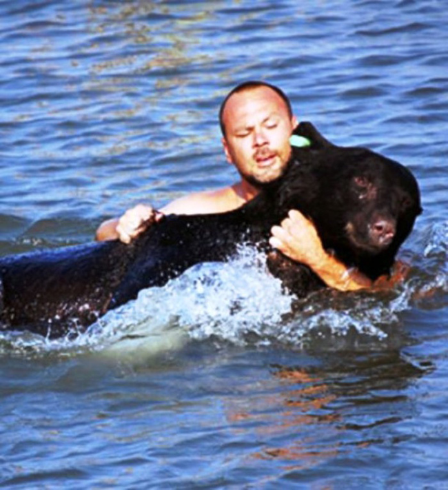 These Amazing People Nearly Died While Saving Animals #Animals #AnimalRescue #Pets