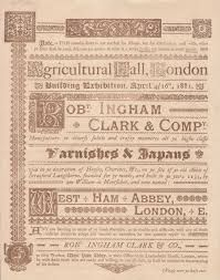 victorian graphic design and typography