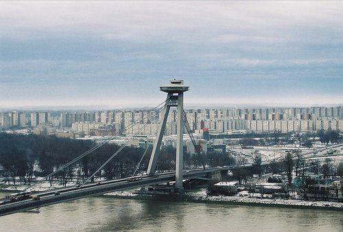 Le pont neuf de Bratislava