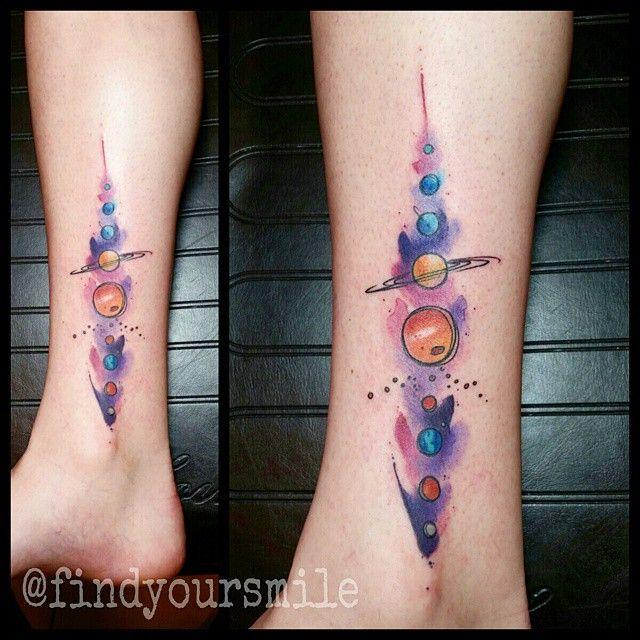 Solar System Tattoo Solar System Tattoo Back Solar System Tattoo