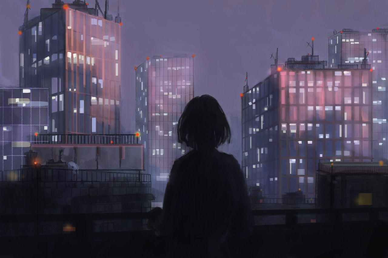 Un Vide Dans Un Catalyseur Marichka I Realized Recently That I Hadn T Anime Scenery Anime Scenery Wallpaper Anime Art Girl
