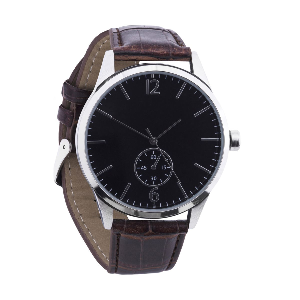 eed004a6a29 Large Brown Strap Watch
