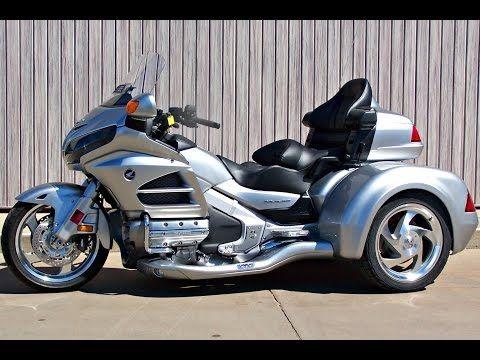 Used 2003 Honda Gold Wing Bushtec Trailer For Sale Chattanooga Tn Ga Al Pre Owned Motorcycles Youtube Goldwing Trike Trike Harley Davidson Trike