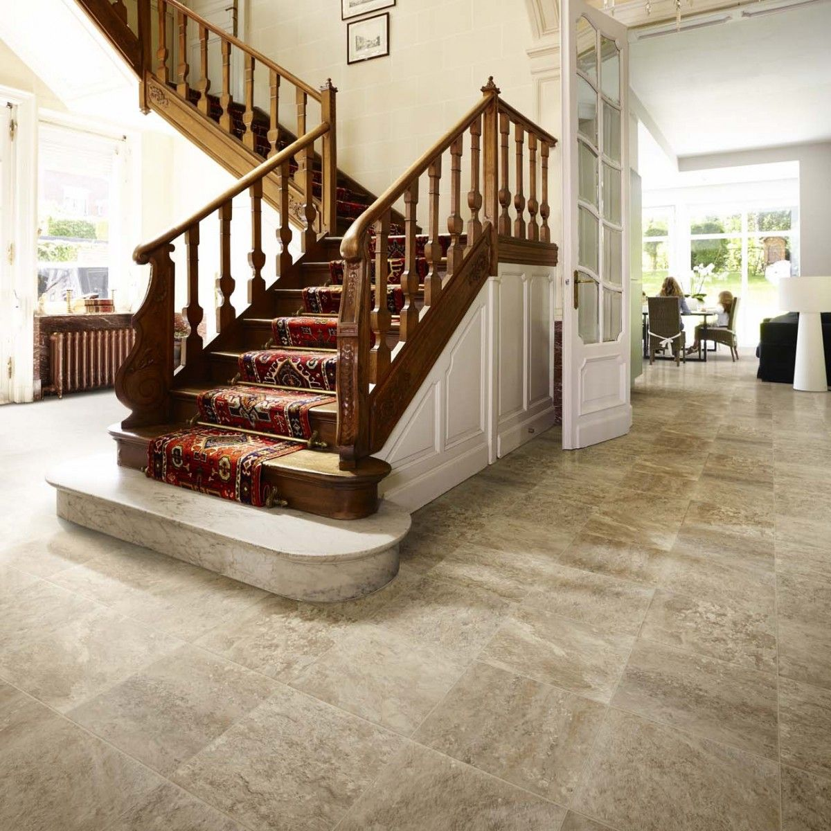 The natural elegance of marble is superbly duplicated with non featuring subtle colour shifts and a smooth texture this vinyl flooring is classified r 10 for slip resistance and has suitable underfloor heating dailygadgetfo Gallery