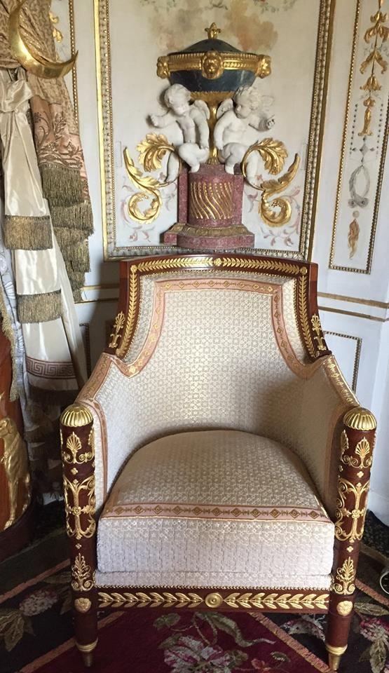 Fontainebleau le boudoir turc de marie antoinette page for Mobilia vaughan