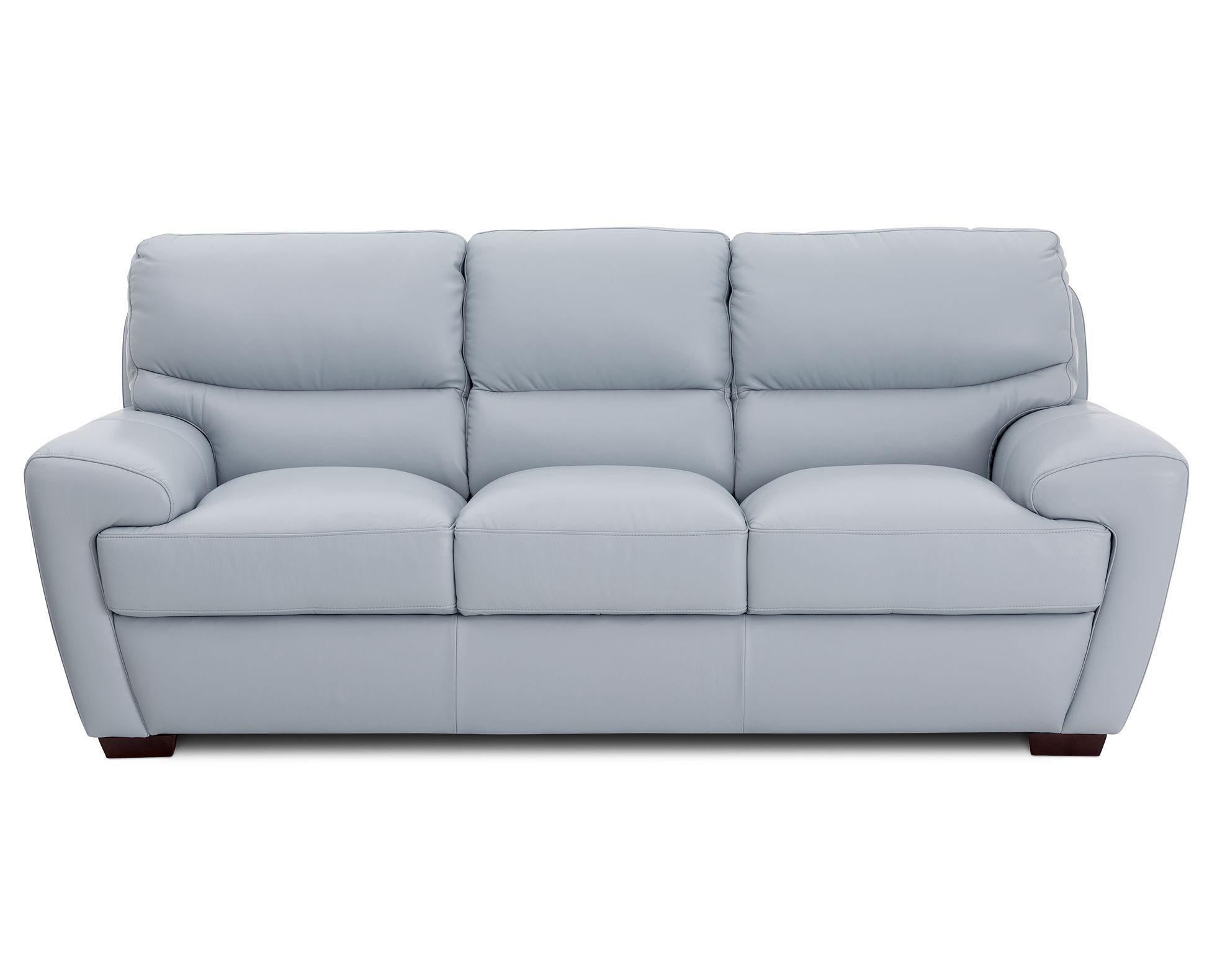 Fall For European Flair With The Sleek Modular Shape Of The Leather Papagiorgio Sofa In Your Choice Of Dark C Rowe Furniture European Home Decor European Decor