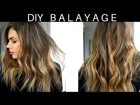Diy 20 At Home Hair Balayage Ombre Tutorial Youtube Hair