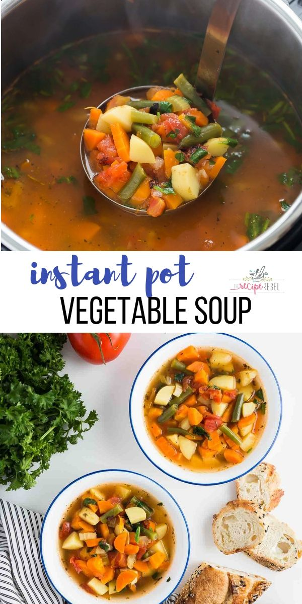 Instant Pot Vegetable Soup images