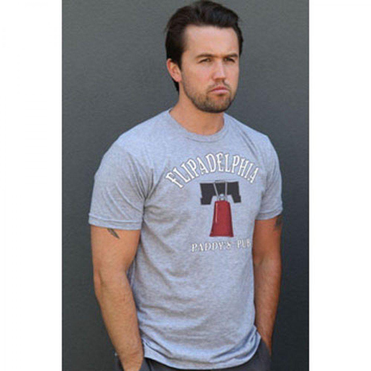 Flipadelphia T-Shirt It's Always Sunny in Philadelphia Paddy's Pub Flip Cup (Mens 2XL)