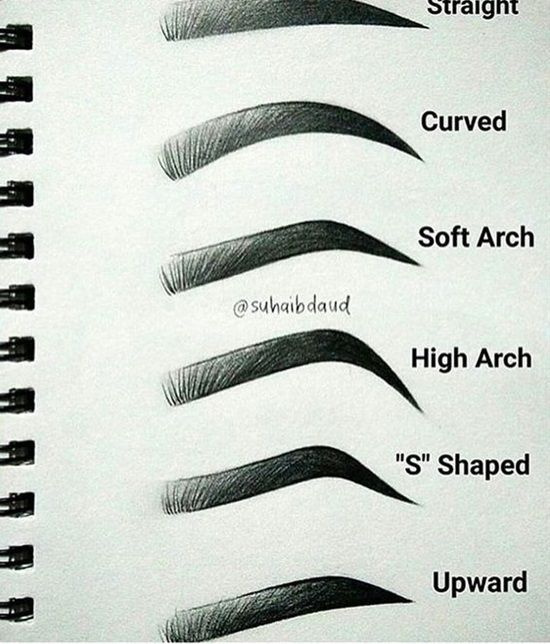 15 Tips and Tricks For Perfectly Beautiful Eyebrows #makeuptips